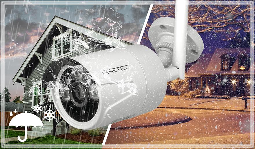 Kamera odporna na trudne warunki atmosferyczne