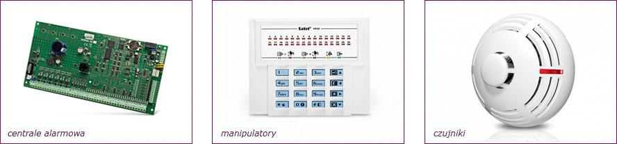 systemy alarmowe, Satel, centrale alarmowe, manipulatory